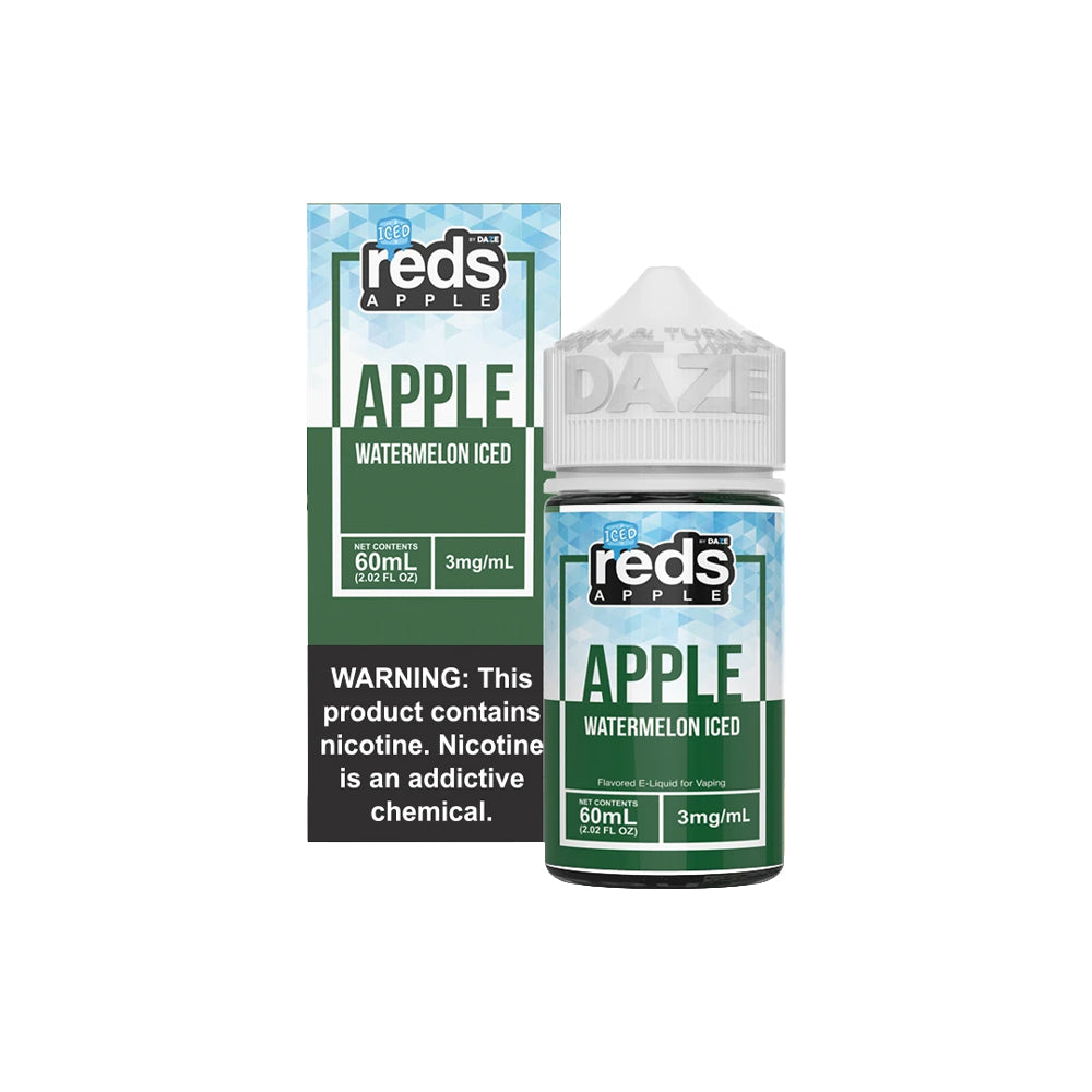 Reds E-Juice - Apple Watermelon Iced