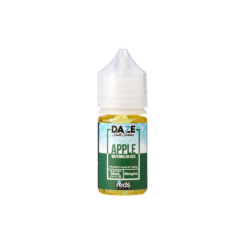 Reds by 7Daze - Apple Watermelon Iced Salt Nic