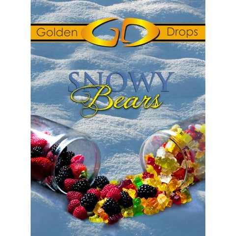 Golden Drops - Snowy Bears - Luxe Vape Junction