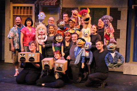 "Cast of Highland Park Players ""Avenue Q"""