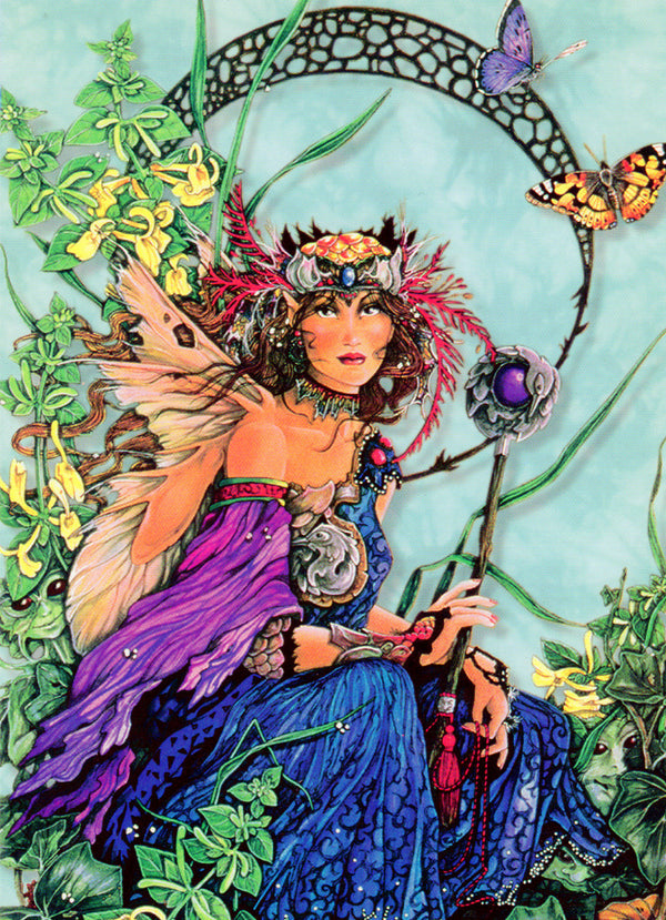 5 Wholesale Linda Ravenscroft  Fairy Greeting Cards -- Set 1