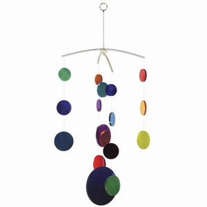 Rainbow Mirror Mobile -- 21 Inches