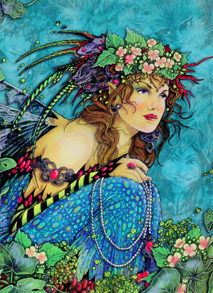 5 Wholesale Linda Ravenscroft Fairy Greeting Cards -- Set 2