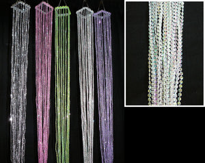 Special Event Beaded Streamer Hanging Tassels -- 40 Inches Long