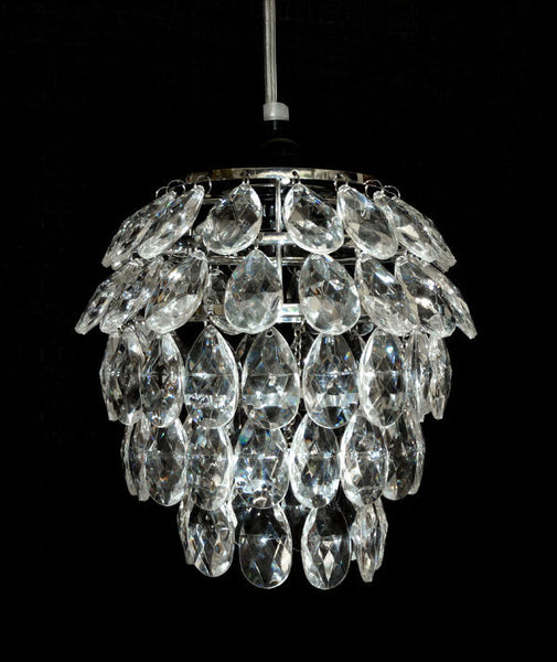 Products tagged beaded chandelier that bohemian girl five tier tulip shape acrylic crystal chandelier aloadofball Images