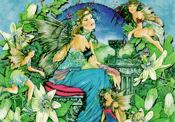 5 Wholesale Linda Ravenscroft Fairy Mermaid Greeting Cards -- Set 5