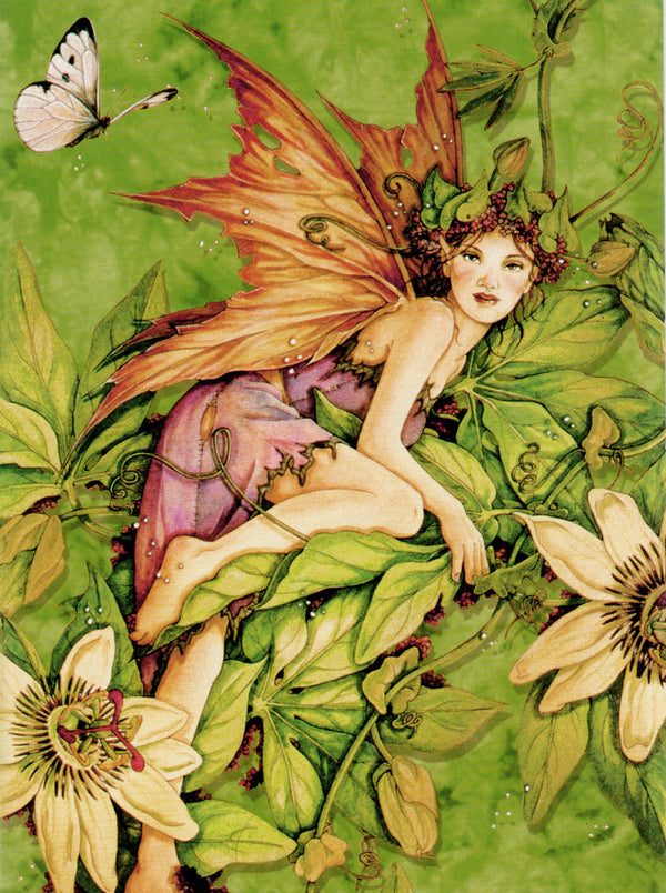 5 Wholesale Linda Ravenscroft Fairy Mermaid Greeting Cards -- Set 6