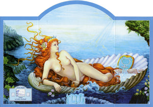 Linda Garland Venus Altar Greeting Card
