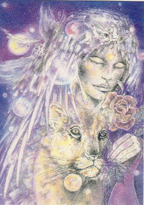 Charmian Spirit Guides Greeting Card