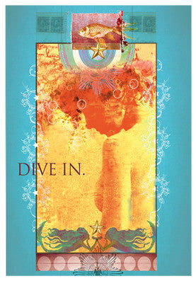 Dive In Mermaid Magnet