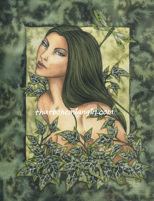 Amy Brown Ivy Fairy Nymph Print -- Limited Edition