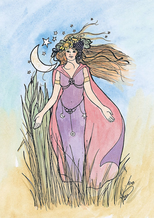 Karen Bagnard Lughnasadh Celtic Greeting Card