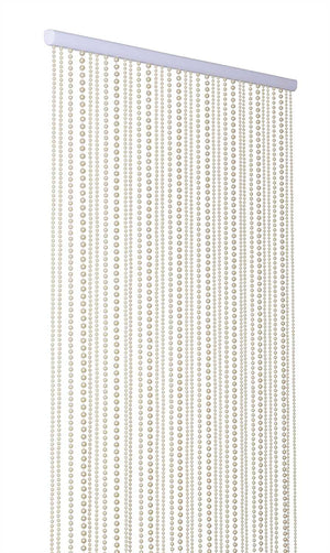Ivory Pearl Beaded Curtain