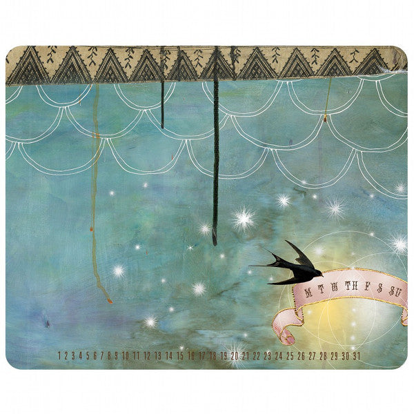 Papaya Art Starlight Memo Mouse Pad
