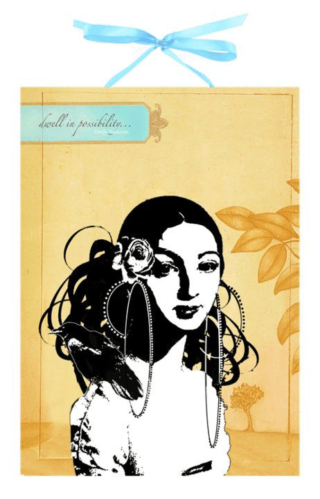 Spanish Girl Art Panel Print