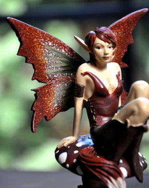 Amy Brown Foxy Fae Fairy Figurine -- Limited Edition