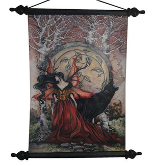 Amy Brown Beauty and the Beast Scroll