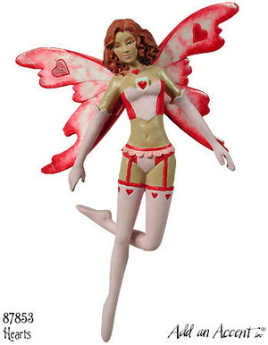 Amy Brown Hearts Playing Card Fairy Diva