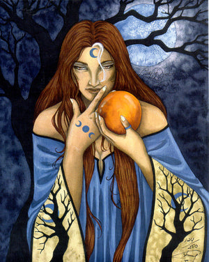 Amy Brown Lady of Avalon Print -- Limited Edition