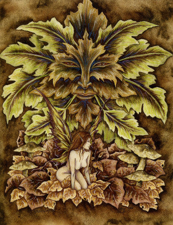 Amy Brown Greenman Fairy Print, 8 x 10