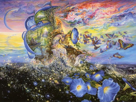 Josephine Wall Andromedas Quest Birthday Greeting Card
