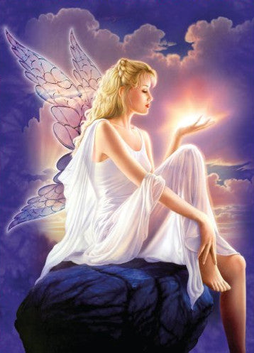 Angel of Light Greeting Card