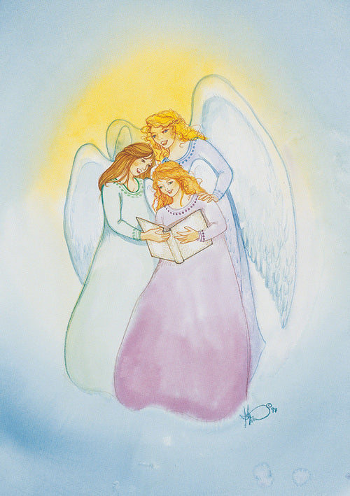 Karen Bagnard Angel Song Greeting Card