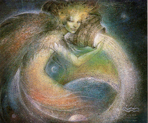 Susan Seddon Boulet Aquarius Greeting Card