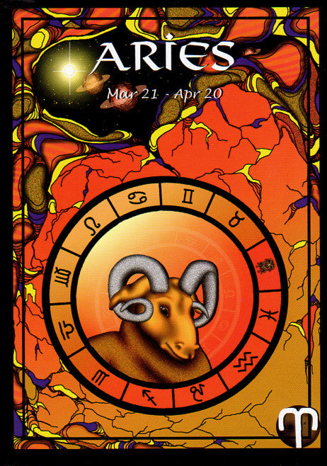 Astrological Aries Greeting Card