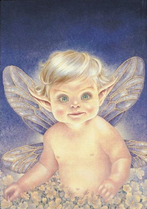 Maxine Gadd Greeting Card -- Baby Chrysella