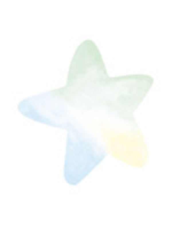 Wallies Pastel Baby Star Wallpaper Cutouts