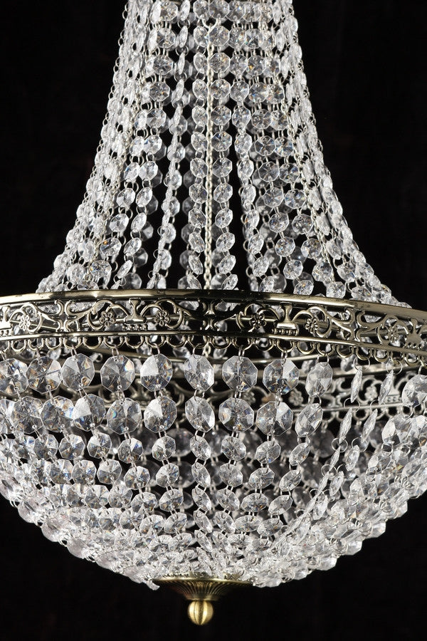 Clear renaissance beaded chandelier that bohemian girl clear renaissance beaded chandelier clear renaissance beaded chandelier aloadofball Image collections