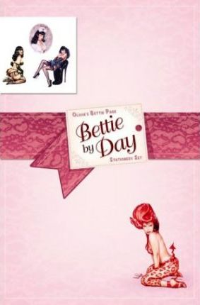 Bettie Page by Day Stationery Set