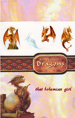 Bob Eggleton Dragons Stationery Set