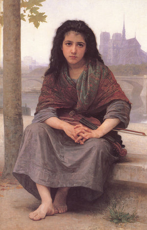Adolphe William Bouguereau Bohemienne Greeting Card