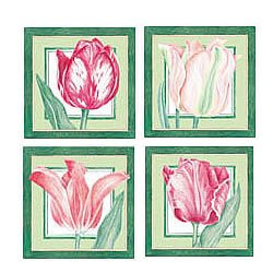 Wallies Botanical Tulip Wallpaper Cutouts