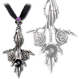 Alchemy Gothic Bouquet Noir Necklace