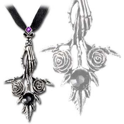 Alchemy Gothic Bouquet Noir Necklace Gothic Wedding