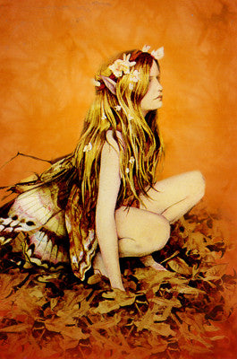 Brian Froud Faery Flora Fairy Note Card