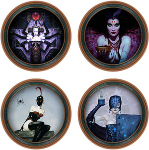 Brom Darkwerks Coaster Set
