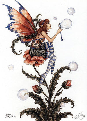 Amy Brown Bubble Sprite II Fairy Postcard