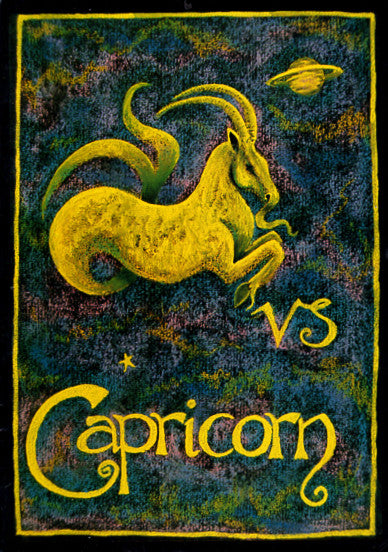Astrology Capricorn Note Card