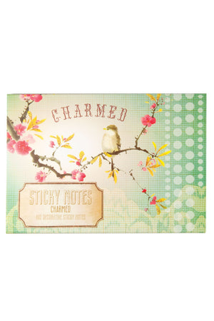 Papaya Art Charmed Bird Sticky Notes