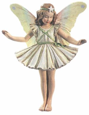 Cicely Mary Barker Christmas Tree Flower Fairy