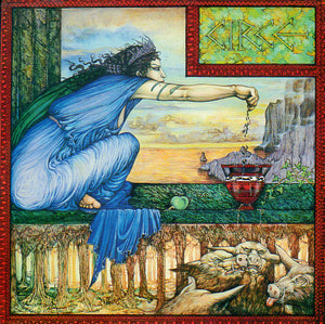 Linda Garland Goddess Circe Greeting Card