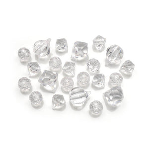 20  Clear Large Acrylic Loose Beads