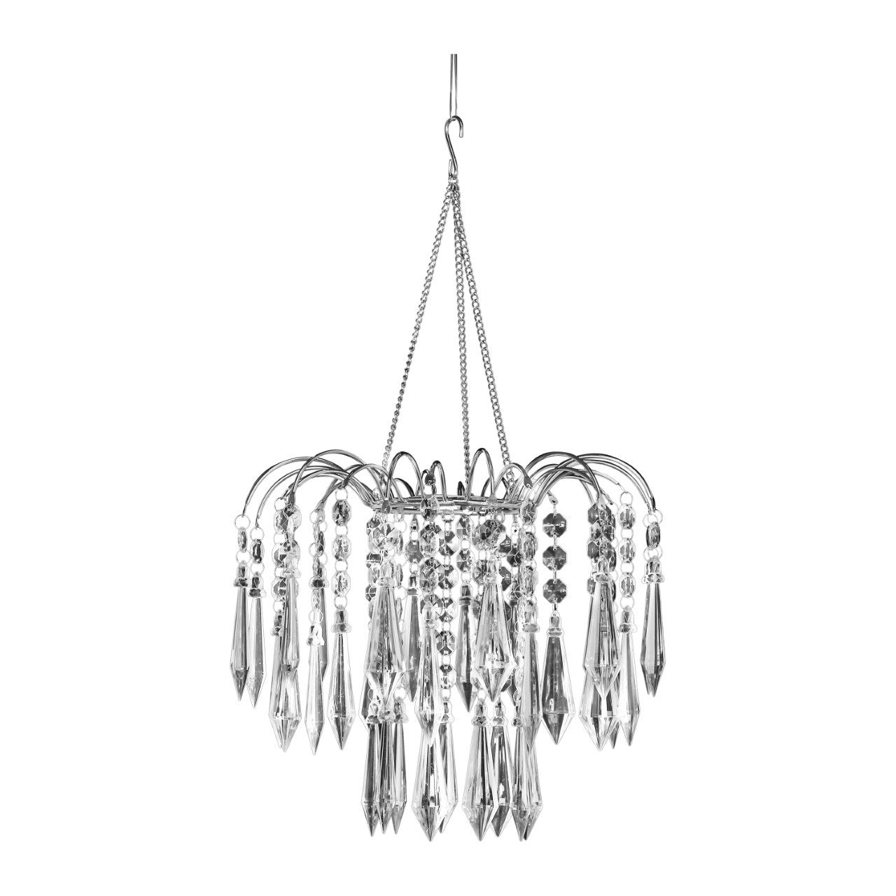 Chandeliers lamps that bohemian girl clear acrylic ornaments beaded chandelier arubaitofo Image collections