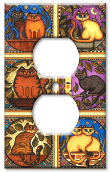 Dan Morris Mosaic Cats Outlet or Rocker