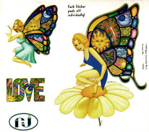 Dan Morris Butterfly Fairy Celestial Love Stickers -- RJ262