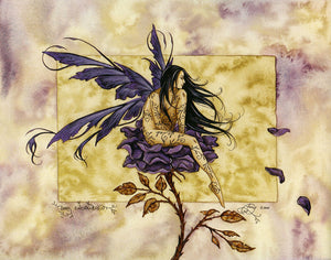 Amy Brown Dark Enchantment Fairy Note Card